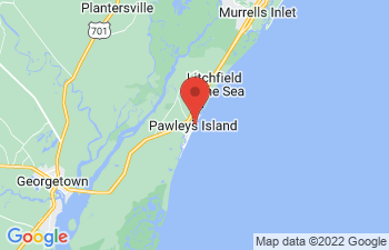 Map of Pawleys Island