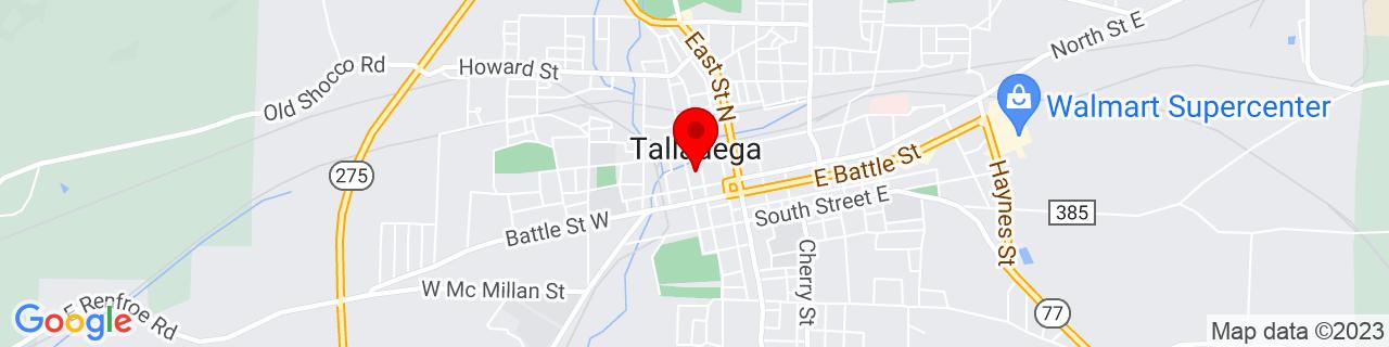 Google Map of 33.4359416, -86.1058048