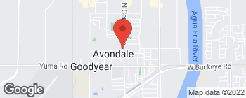 Map of 318 N Central Ave in Avondale