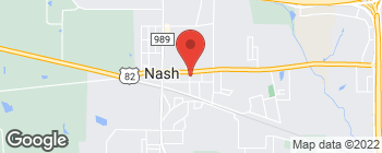 Map of 300 E New Boston Rd in Nash