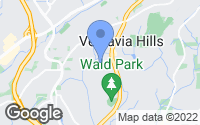 Map of Vestavia Hills, AL