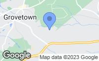 Map of Grovetown, GA