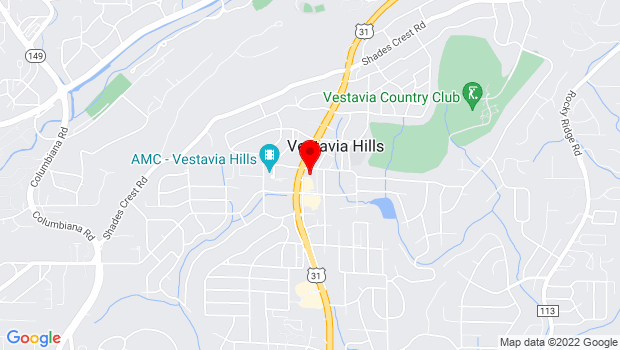 Google Map of 701 MONTGOMERY HIGHWAY, SUITE 202, Birmingham, AL 35216