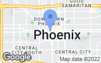Map of Phoenix, AZ
