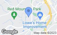 Map of Homewood, AL