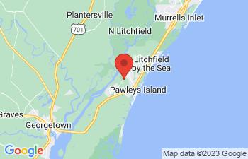 Map of Pawleys Island