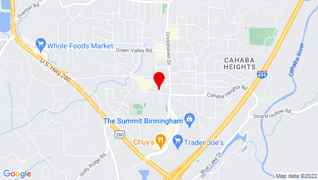 Google Map of 4126 Autumn Lane, Birmingham, AL 35243
