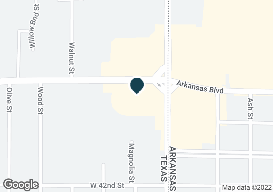 Google Map of4415 N STATE LINE AVE