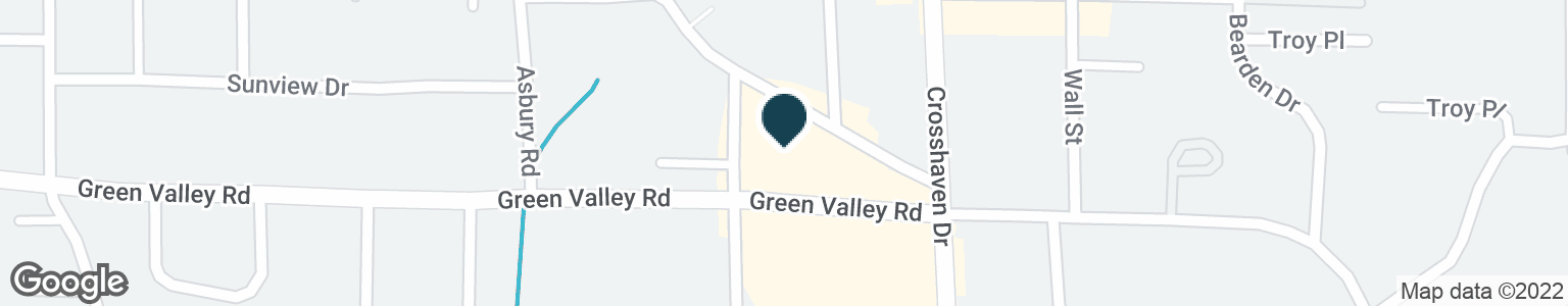 Google Map of3150 GREEN VALLEY RD