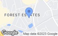 Map of Augusta, GA