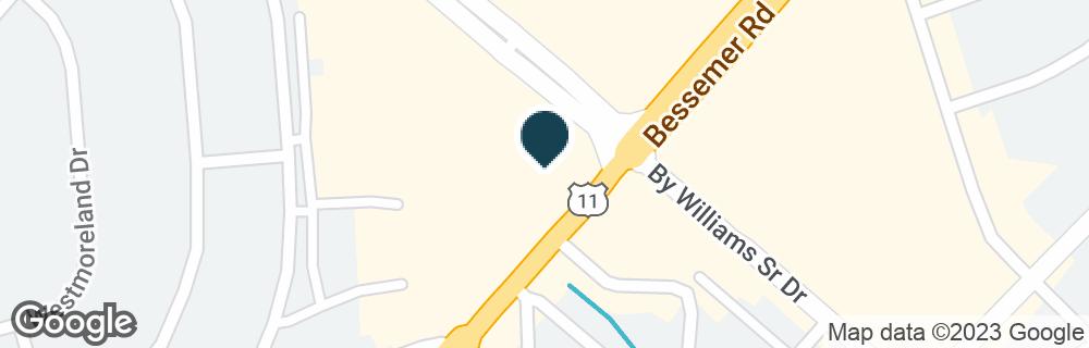 Google Map of101 BESSEMER SUPER HWY