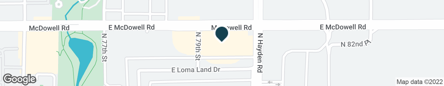 Google Map of7923 E MCDOWELL RD