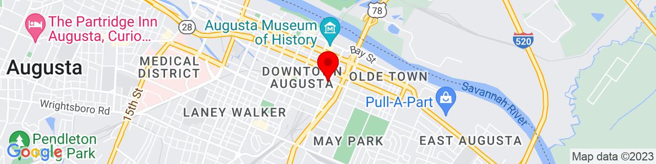 Google Map of 33.4696758, -81.9609656