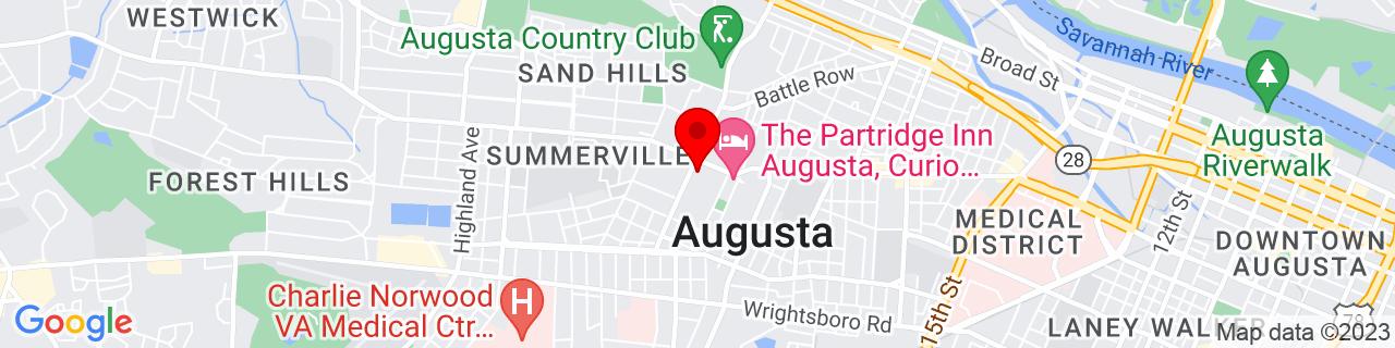 Google Map of 33.475611, -82.012766