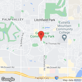 Map of Puja Goswami, MD at 3030 N. Litchfield Roadsuite 120, Goodyear, AZ 85395