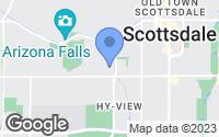 Map of Scottsdale, AZ