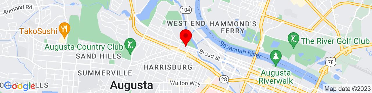 Google Map of 33.484509, -81.994483