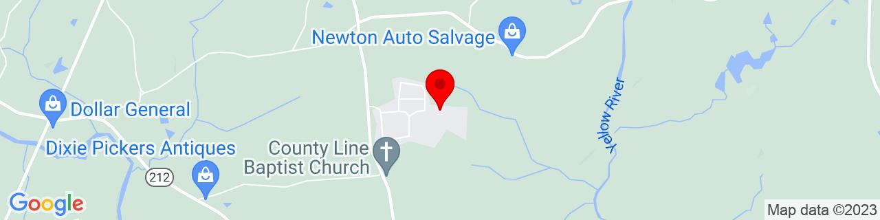 Google Map of 33.4882459, -83.907933