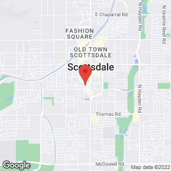 Map of Staples at 3550 North Goldwater Blvd., Scottsdale, AZ 85251