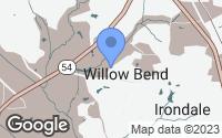 Map of Jonesboro, GA