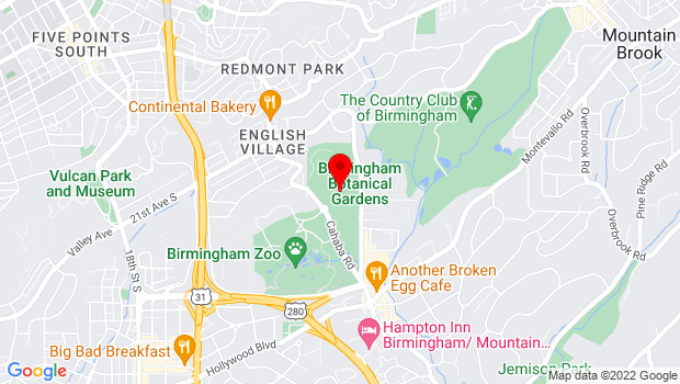 Google Map of 2612 Lane Park Road, Birmingham, AL 35223