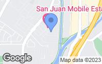 Map of San Juan Capistrano, CA