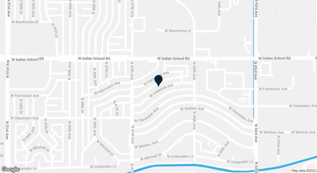 4606 W INDIANOLA Avenue Phoenix AZ 85031