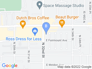 Map of Learning Pawsibilities Dog Boarding options in Phoenix | Boarding