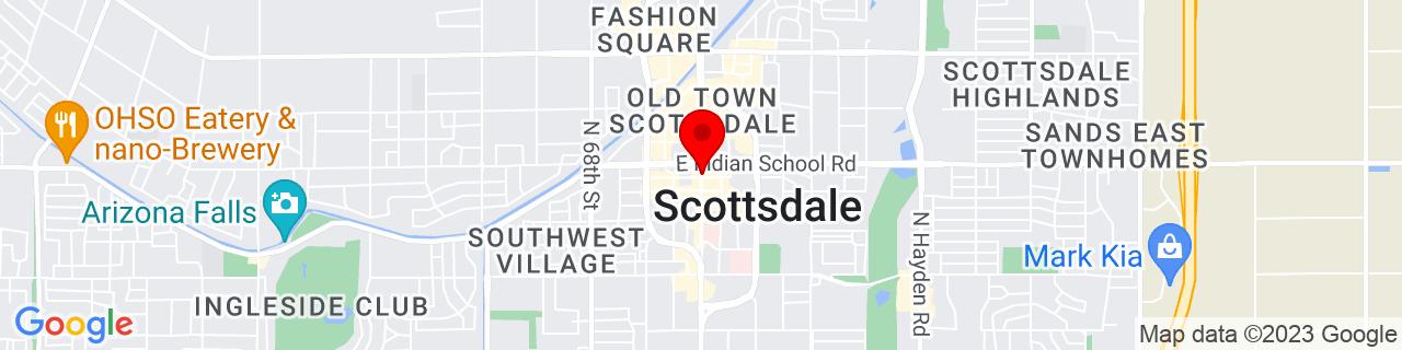 Google Map of 33.4941704, -111.9260519