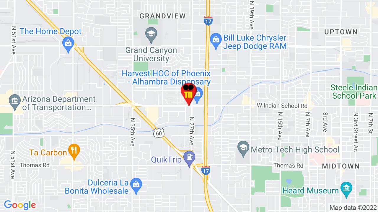 Google Map of Phoenix Commercial Pest Control
