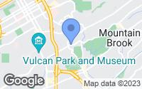 Map of Mountain Brook, AL