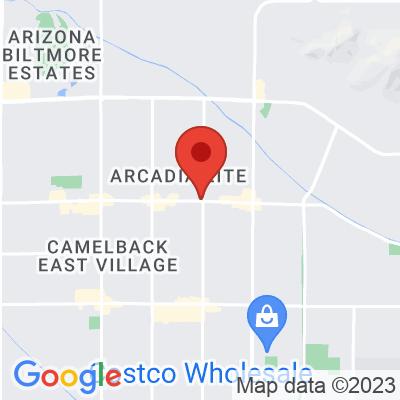 Map showing Lola Coffee (Arcadia)
