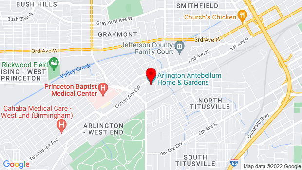Google Map of 331 Cotton Avenue, Birmingham, AL 35211