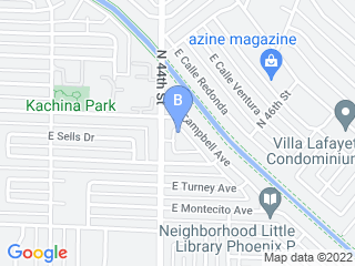 Map of Arcadia Pet Sitting Dog Boarding options in Phoenix | Boarding