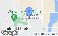 Map of Litchfield Park, AZ