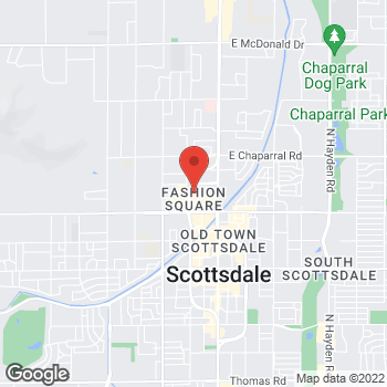 Map of BCBGeneration at Macy's at 7014 East Camelback Road, Scottsdale, AZ 85251