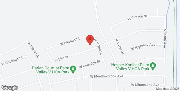 15242 W ELM Street Goodyear AZ 85395