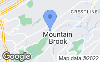 Map of Mountain Brook, AL