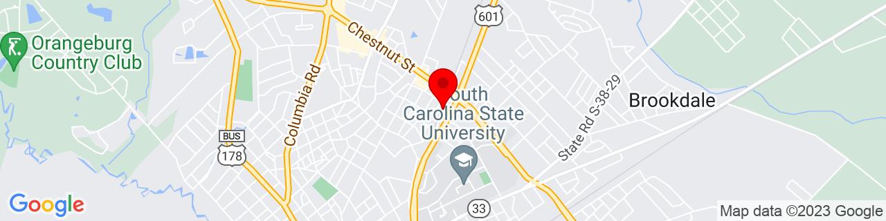 Google Map of 33.5057986, -80.85184249999999