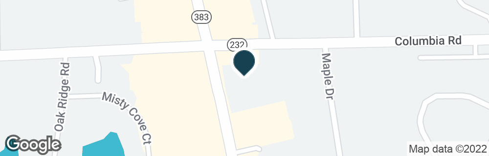 Google Map of4470 COLUMBIA RD