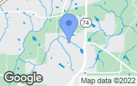 Map of Tyrone, GA