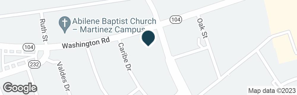 Google Map of3900 WASHINGTON RD