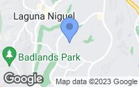 Map of Laguna Niguel, CA