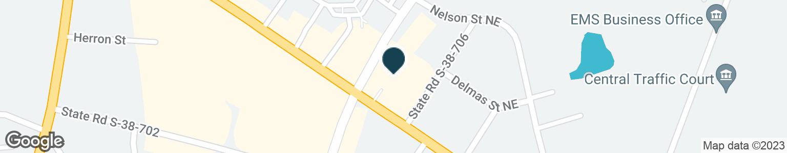 Google Map of1290 CHESTNUT ST