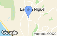 Map of Laguna Niguel, CA