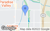 Map of Scottsdale, AZ