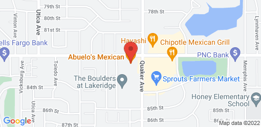 Directions to Abuelo's Mexican Restaurant
