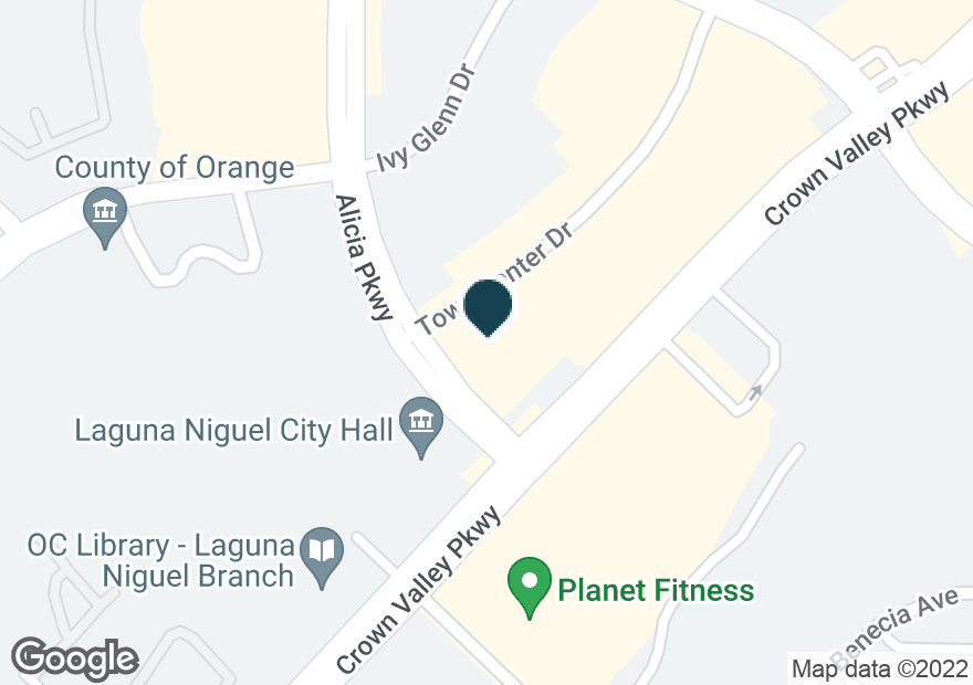 Google Map of30192 TOWN CENTER DR