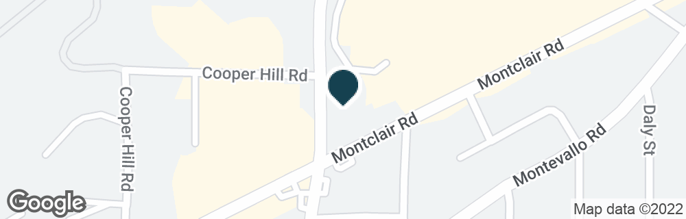 Google Map of1560 MONTCLAIR RD