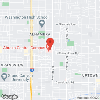 Map of Celia Alvarez-Reeder, PA at 6036 N 19th Avenuesuite 201, Phoenix, AZ 85015